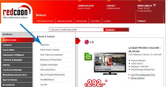 Redcoon   Hoe 3D televisie online kopen?